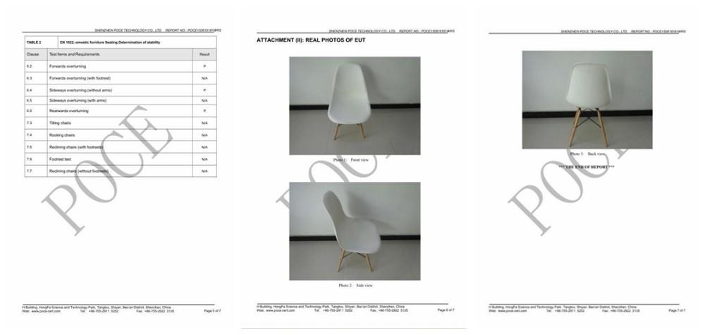 Оптовая продажа Современных Дешевых Реплики Дизайнером Обеденный PP Пластиковые Эмес Кресло T811