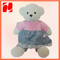 teddy bear wedding dress for kid toys