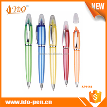Wholesale china factory combo highlighter pen