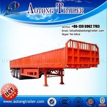 Shangdong High Quality 13m Cargo Transport Semi Trailer sales / cargo transport africa