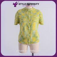 Hot 2015 Luxury Quality Customized Design Wool Handmade Sweater Design For Girl