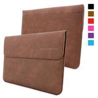Sleeve for Surface Pro 3 Case - Leather Sleeve with Lifetime Guarantee (Brown) for Microsoft Surface Pro 3