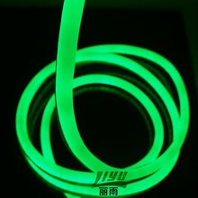 DC24V indoor + outdoor decoration extremely BRIGHT led neon in GREEN color, #LY-LED-24V-EG