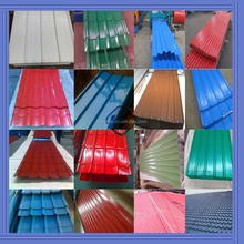 665mm to 1150mm width different model corrugated steel roof sheet/prepainted steel roof/color coated corrugated steel sheet