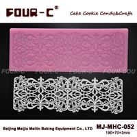 FOUR-C Cake Lace Mat Sugar Art Silicone Mold Baking Supplies