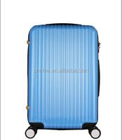 SKY BLUE VERTICAL TRAVEL LUGGAGE