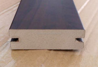 hot sale PVC or PU paper wrapped MDF moulding