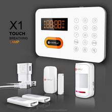 120 wireless zones PSTN wireless smart home automation alarm system