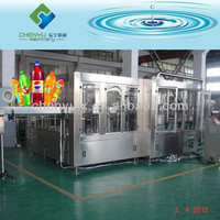 Automatic PET Bottle Soda Making Equipment / Carbonated Drink Filling Machine