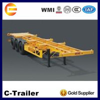 China Factory Good Quality three axle container chassis on sale