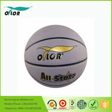 Children toys Customized Rubber PU PVC Wholesale individual basketballs