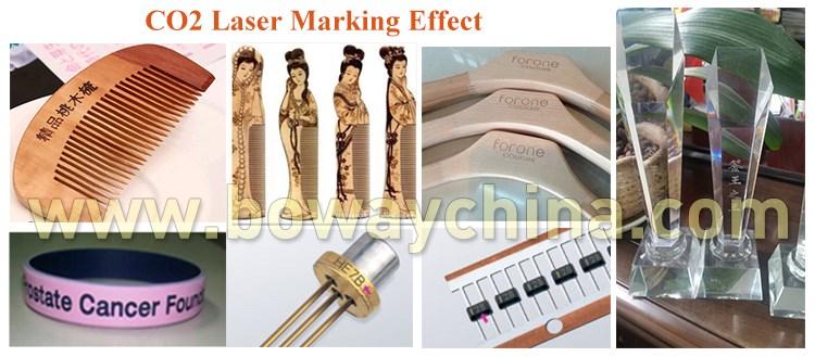 Fiber Laser Marking effect