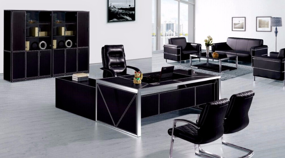 Comluxury Office Furniture : ... sale leather executive luxury office furniture metal boss office desk