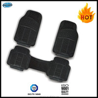 Classic Design Car Truck SUV All Weather Protection Universal Fit Heavy Duty Rubber Car Floor Mat
