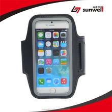 Promotion Hiking Gym Armband Black Reflective Running Stretch Sport Armband, For iphone Armband Phone Holders/Case