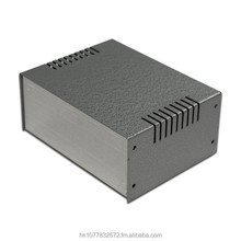 "ST653 6""x2.5""x4.7"" Metal & Aluminum Electronic Project Enclosure Box for DIY"