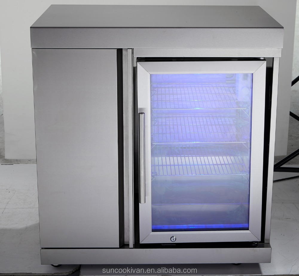 Stainless Steel Outdoor Fridge Cabinet With Single Fridge Buy Fridge Cabinet Fridge Module