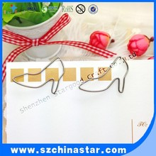 Company promotional gift high heel shaped metal clips