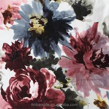 sofa flocked and printed fabric floral print flower print fleece fabric