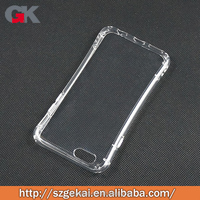 new arrival wholesale hiqh quality transparent soft tpu slim cell phone case for iphone6/ 6s plus