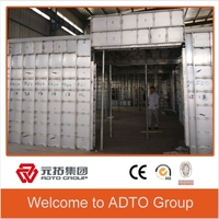 Effection metal wall formwork /recycld used aluminium concrete wall forms for sales
