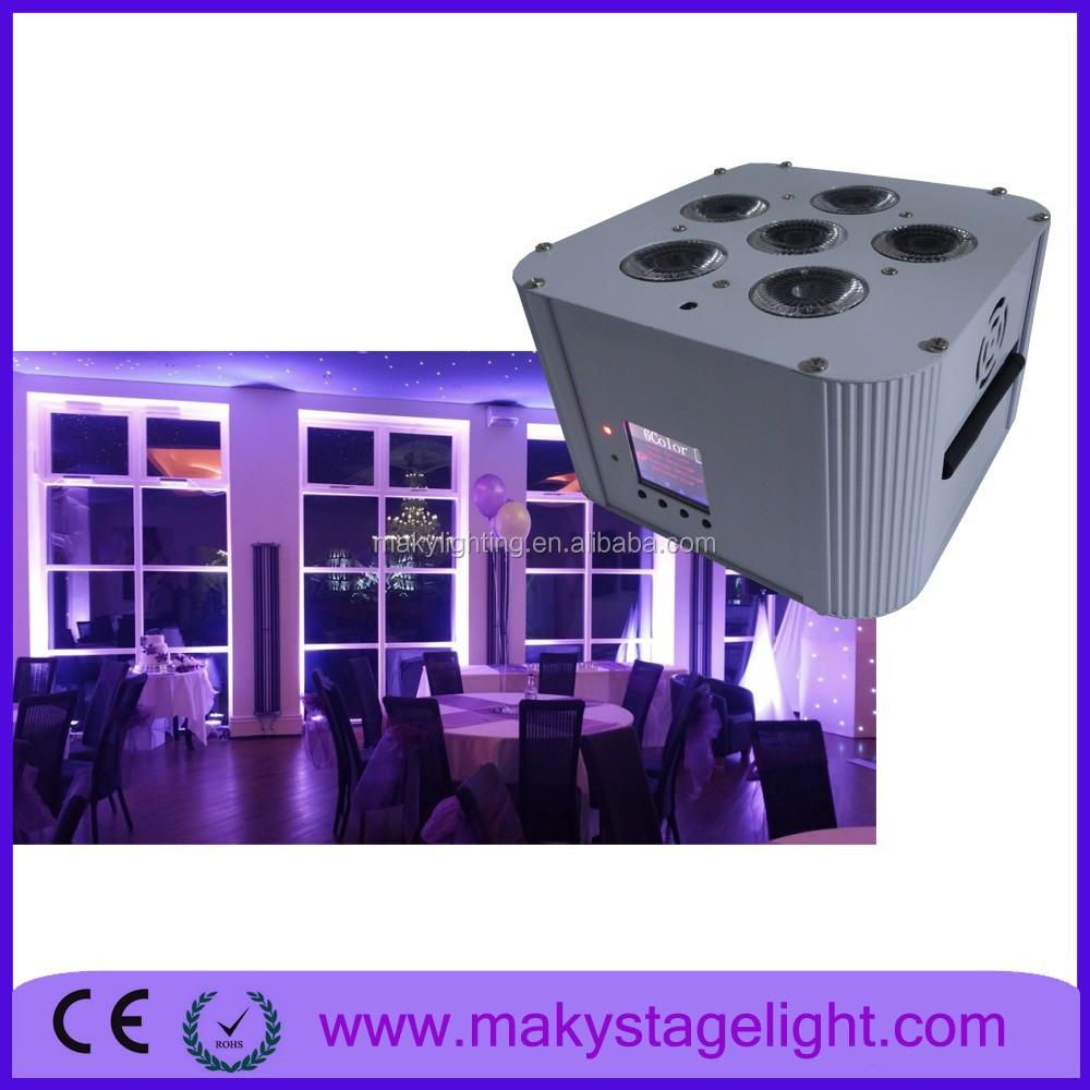 sale buy battery powered led par can led up light for sale rgbwa uv. Black Bedroom Furniture Sets. Home Design Ideas