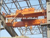 QD Model Double Girder Overhead Mobile Crane 50 ton
