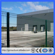 PVC welded wire mesh fence mesh panel fencing(Guangzhou factory)