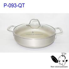 2015 promotional noble cooking sets pressed ceramic coating kitchenware set
