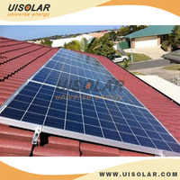 10kw PV solar racking system for Tile top roof