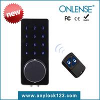 Onlense new product touch screen electronic key door lock digital lock
