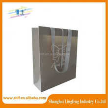 Manufacturer Wholesale kraft brown paper gift bags party bag