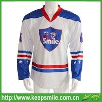 Custom Sublimation Fitted Ice Hockey Jersey