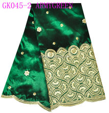 2015 george wrappers fancy new design Chinashow lace, African Exclusive Lace