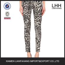 Leopard fashion hot women jeans