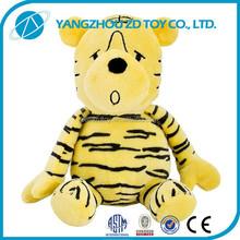 OEM new design plush polyester stuffed toys plush tiger and lion