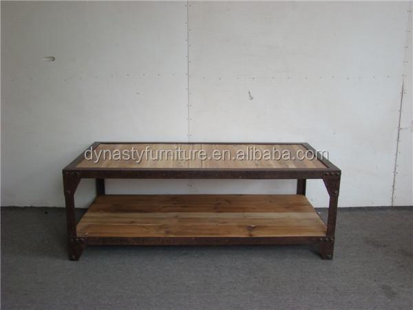 골동품 산업 매립지 나무 가구 커피 테이블-커피 테이블 -상품 ID ...