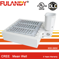 High quality IP65 100 watt outdoor led flood light UL / cUL ETL DLC approved 150W LED Shoebox Light