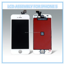Factory direct sales LCD Touch Screen Assembly Replacement screens for iphone 5