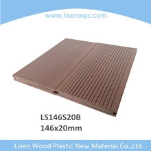 Hot Sale Solid Waterproof WPC Decking, Outdoor Flooring Board Wpc, Cheap Price Composite Decking