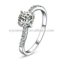 Perfect round wire crystal diamond napkin elegant wedding ring