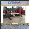 Double color corrugated cardboard printing slotting machine