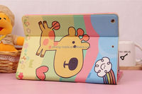 Newest Fashion For apple ipad air Cute cat Stand Magnetic PU Leather Case for iPad Air 5 Smart Cover