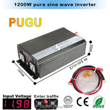 1200W DC 12V 24V AC 110V 220V inverter, Pure sine wave inverter