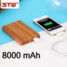 solar powerbank 8000mah,wooden manual for power bank ,slim power bank for smartphone