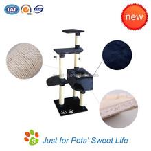 Sweet Top Selling Luxury Indoor Cat Scratching Tree Sisal Cat Tree