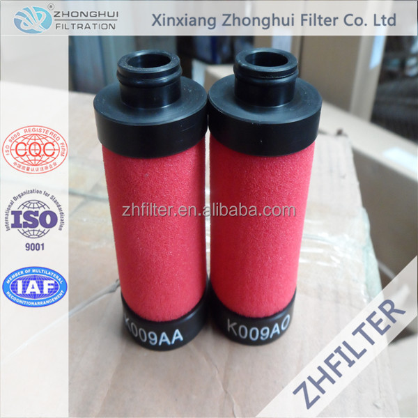 Domnick Hunter compressed air filter element K009AA