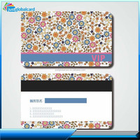 Promotional Gifts Black or Silver 2 track magnetic stripe vip membership RFID card hotel access card