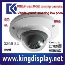 cheap IPC-HDB3200C dahua cctv 1080P camera ip SDK mini with SD card metal case 2 mega pixel mini dome camera vandalproof cctv