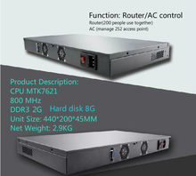 1 wan ports Router /AC managed control equipment with powerful firewall